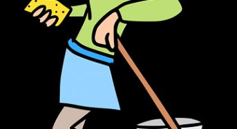 Pulizia della casa come routine: non far accumulare cose sporche