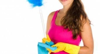 Pulizia quotidiana del soggiorno: in poco tempo un ambiente fresco e pulito