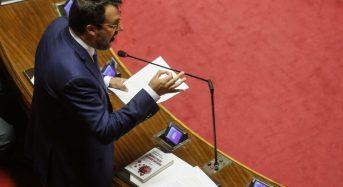 Salvini, rischio decadenza nel caso di Condanna
